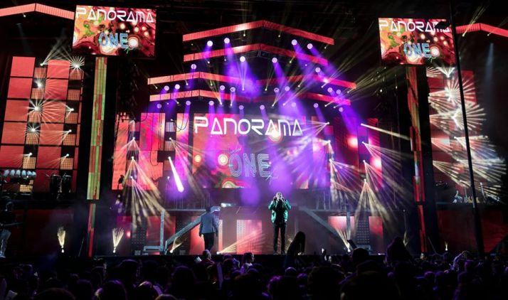 Orquesta Panorama en directo.