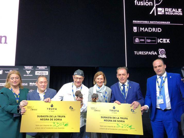 Una imagen de la presencia soriana en Madrid Fusión este martes.
