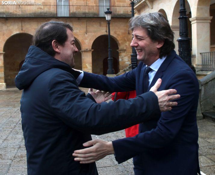 FOTOS: Intensa jornada de Mañueco en Soria este martes
