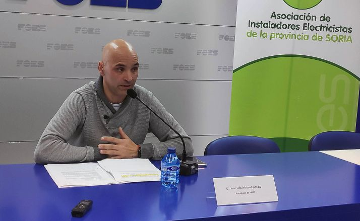 José Luis Mateo, presidente de APIES. /FOES