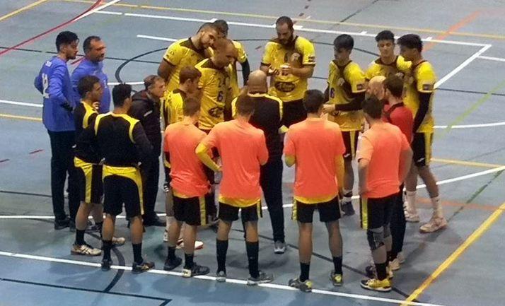 Foto 1 - Ajustada victoria del BM en Palencia