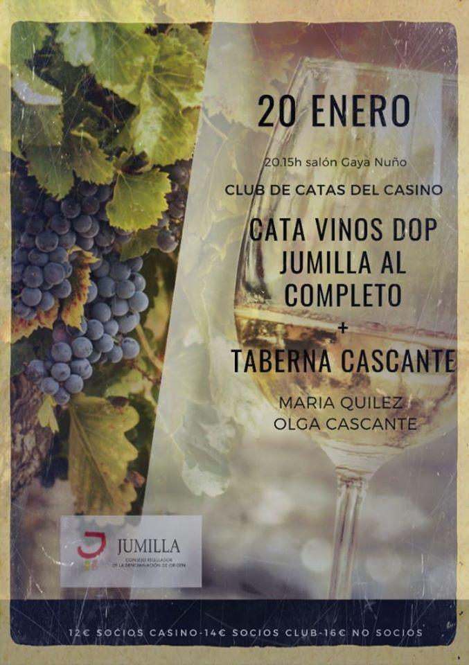 Foto 2 - El lunes, cata de vinos de Jumilla en el Casino
