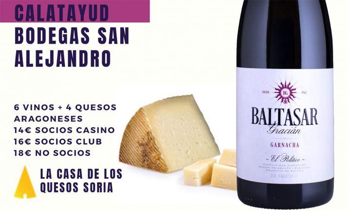 Foto 1 - Vinos de Calatayud y quesos maños, nueva cata en el Casino