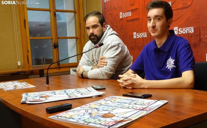 Manuel Izquierdo (dcha.) y Sergio de Miguel, este miércoles en rueda informativa. /SN