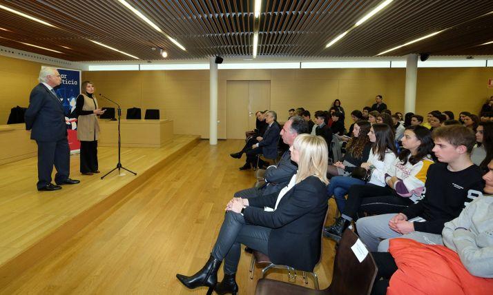 Una imagen del acto celebrado este viernes en Burgos. /Jta.