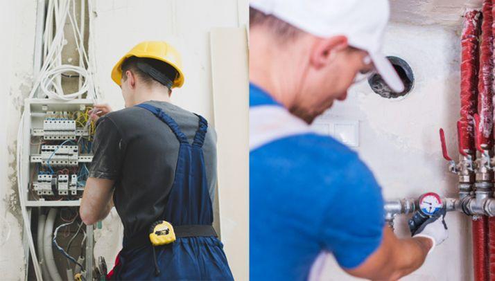 Foto 1 - Rebi busca electricista y fontanero