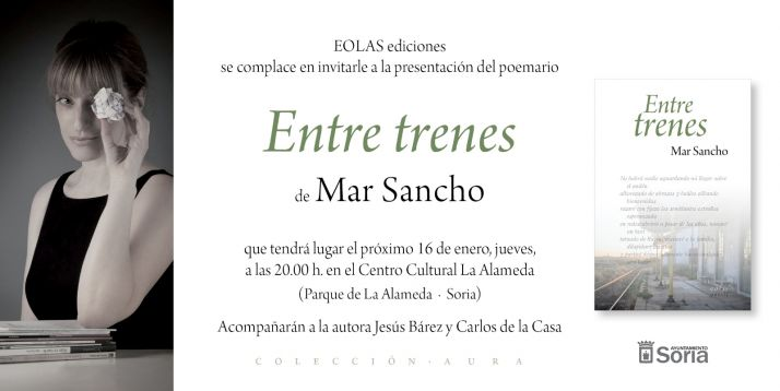 Foto 2 - La escritora Mar Sancho presenta poemario 'Entre trenes' este jueves