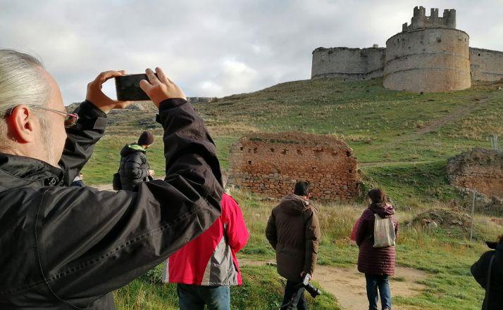 Productores y localizadores en una visita a la provincia amparada por Soria Film Commission.
