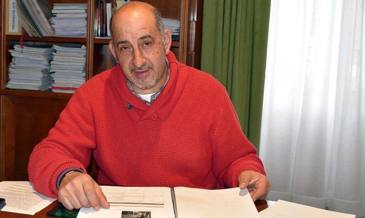 Gustavo Marín, diputado popular en el Palacio Provincial.