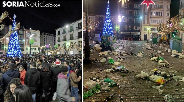 Foto 1 - El antes y el después de la multitudinaria champanada de Herradores