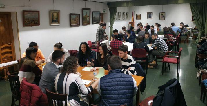 Foto 2 - Los jóvenes de Castilla y León, manos a la obra en la Casa de Soria en Madrid