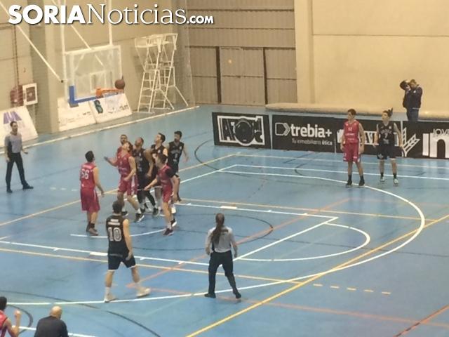 CBS Soria Ciudad del deporte en el partido de ayer