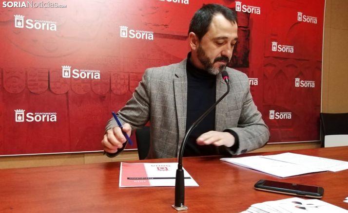 Javier Muñoz, concejal responsable de Hacienda. /SN