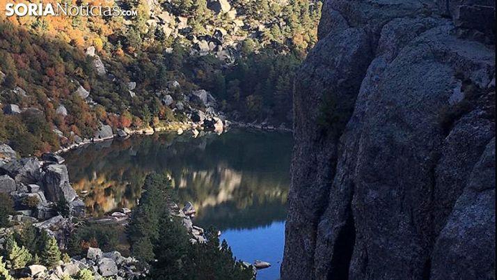 Una imagen de la Laguna Negra. /SN
