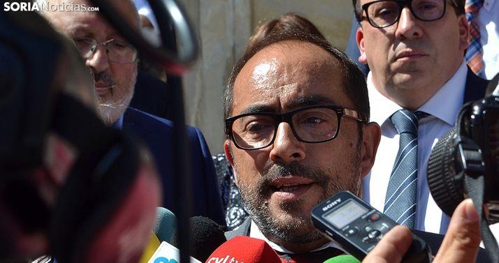 Luis Rey, secretario de los socialistas sorianos. /SN