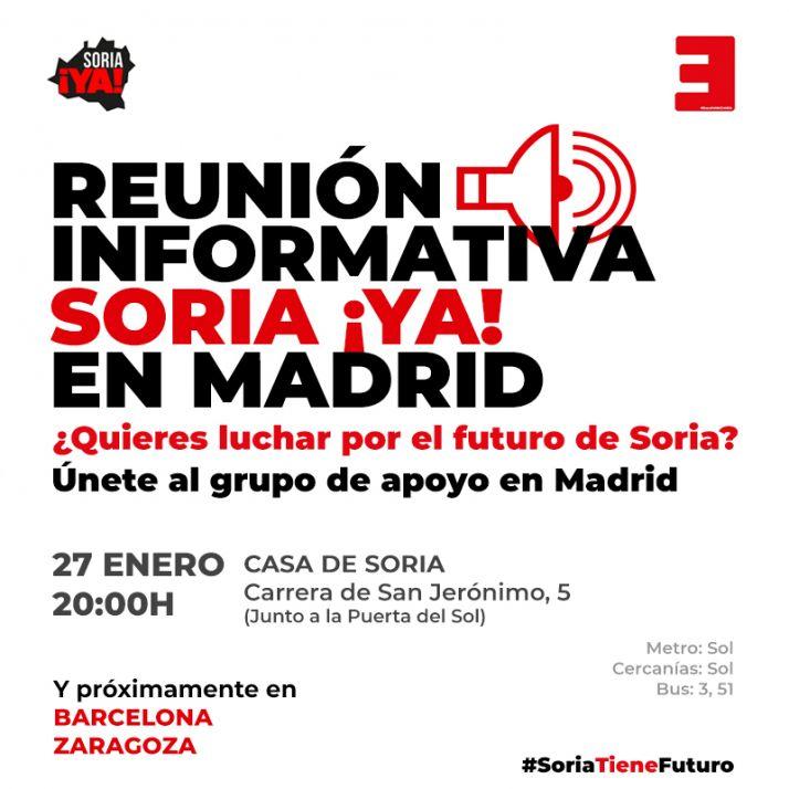 Reunión informativa Madrid