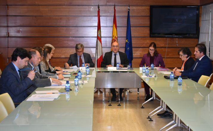 Reunión de esta mañana en Valladolid. /Jta