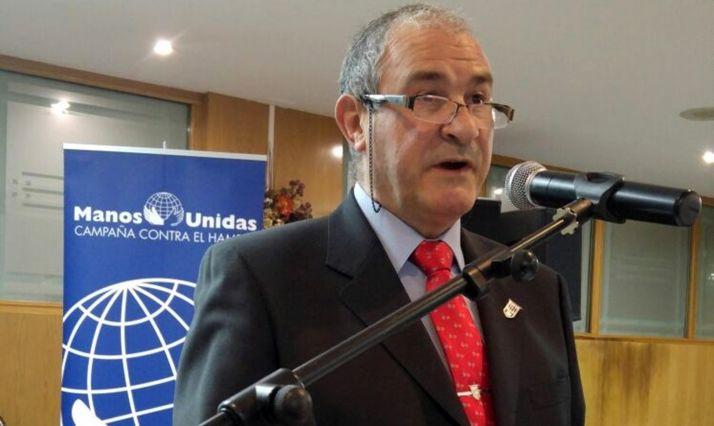 Jesús Raúl Stoduto en un acto de la organización que presidió.