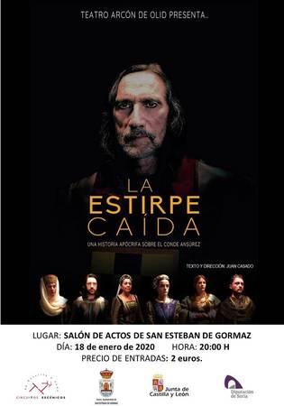 Foto 2 - Vuelve el teatro a San Esteban con 'La estirpe caída'