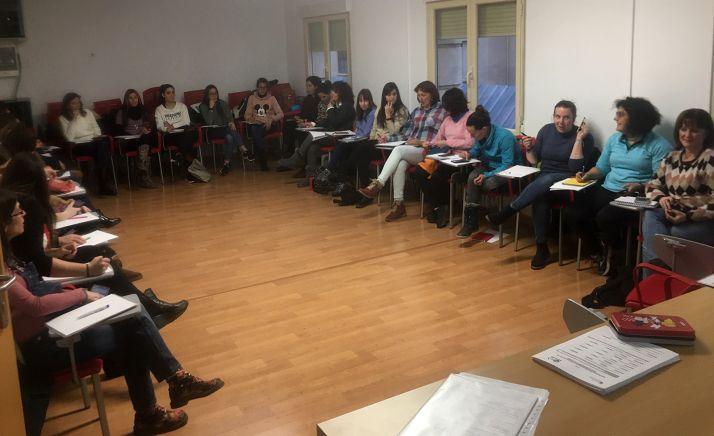 Imagen de una de las sesiones impartidas.