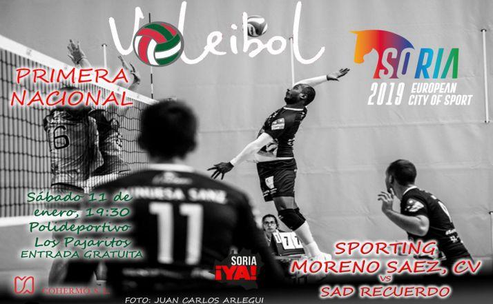 Foto 1 - El sábado, jornada histórica para el Moreno Sáez Sporting CV Soria