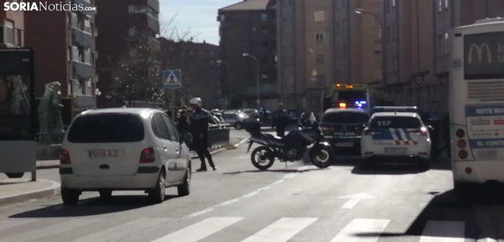 Atropello en Duques de Soria.