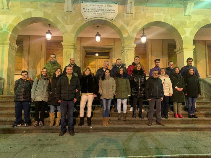 Foto 1 - La primera imagen de los jurados de San Juan 2020