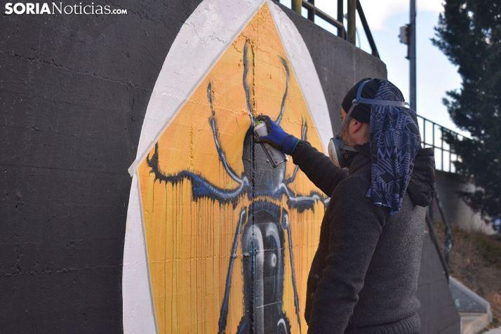 FOTOS: Grafiteros con mucho arte en Soria