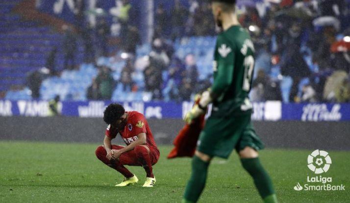 El Numancia se mete en un charco en la Romareda (1-0)