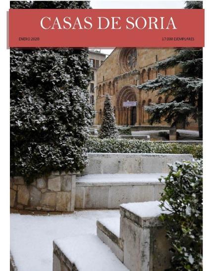 Foto 1 - Las Casas de Soria publican su revista de enero