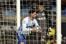 El Numancia cae ante un Málaga confiado y superior que se salva del descenso (2-1)