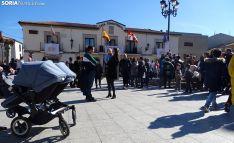 Una imagen de la plaza del Ayuntamiento este domingo. /SN