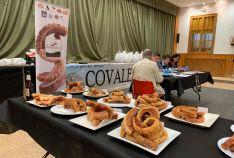 Una imagen del salón municipal de Covaleda ayer. /MGTS
