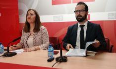 Virginia Barcones y Ángel Hernández, este lunes en rueda de prensa. /SN