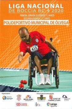 El cartel de la competición en Ólvega.