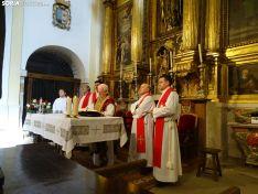 Una imagen de la festiva jornada en San Leonardo de Yagüe. /SN