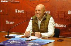 José Manuel Aceña durante la rueda de prensa.
