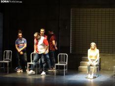 Representación de la obra 'Jauría' en el Palacio de la Audiencia