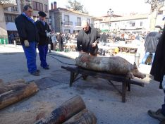Una imagen de la jornada matancera en San Leonardo de Yagüe. /SN