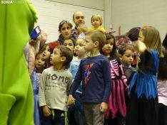 Salón infantil de Carnaval en el San Andrés