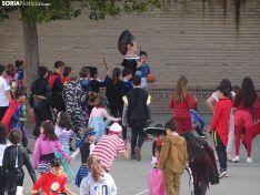 Una imagen del ambiente este viernes en el colegio. /SN