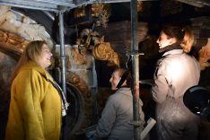 Foto 2 - La Junta invierte 100.000 € en restaurar el retablo del Cristo de las Maravillas en El Burgo