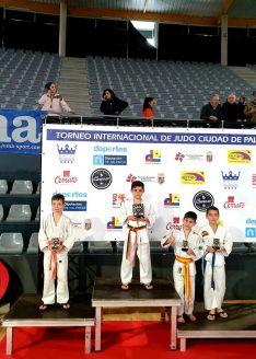 Foto 3 - Magníficos resultados para el judo soriano en Palencia