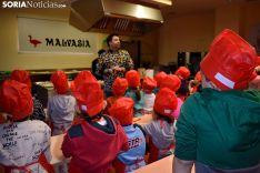 Jornada para escolares de la Feria de la Trufa de Soria.