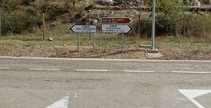 Carretera SO_920 entre El BUrgo de Osma y San Leonardo de Yagüe