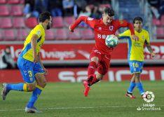 El Numancia salva un punto en casa tras un sufrido encuentro ante Las Palmas (1-1)