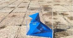 Pajarita Azul 2020. Foto de archivo