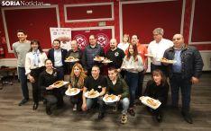 Todos los participantes en la ronda de Soria del 'Mejor Torrezno del mundo'. /SN