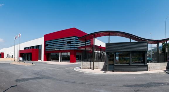 Una de las factorías de la compañía en Ólvega.