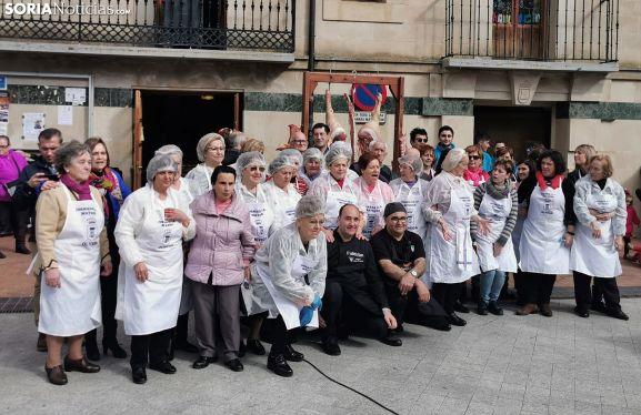 Una imagen de los participantes de la puesta en escena. /SN